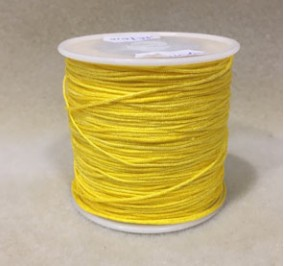 0,8 mm, cordon nylon, jaune vif, par 5 m